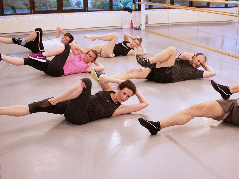 Fitness Gruppentraining